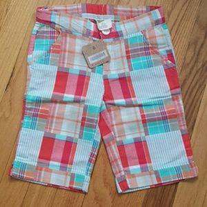 Bermuda shorts patchwork
